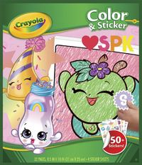 Crayola: Colour & Sticker Book – Shopkins