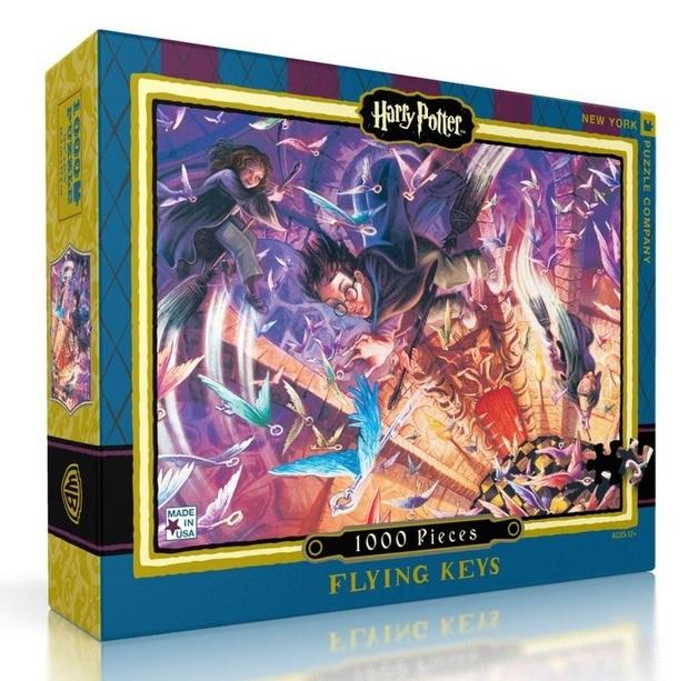 Harry Potter: 1000 Piece Puzzle - Flying Keys