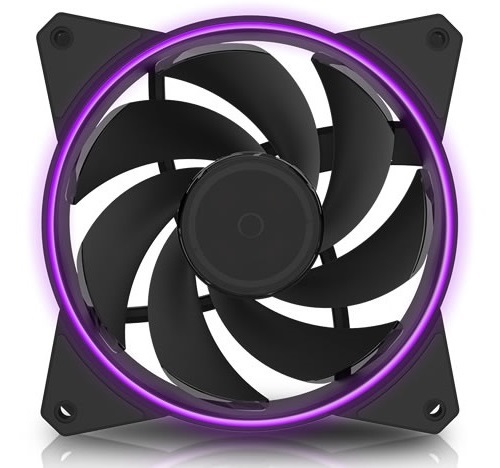 120mm Cooler Master: MasterFan MF122R RGB - with a Ring of Light