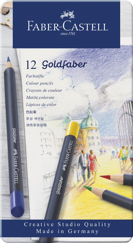 Faber-Castell: Goldfaber (Tin of 12)