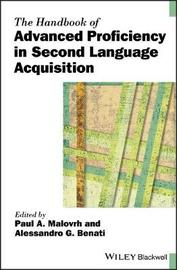 The Handbook of Advanced Proficiency in Second Language Acquisition image