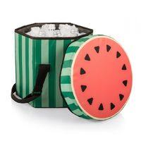 Bongo Cooler Tote/Seat - Sliced Watermelon