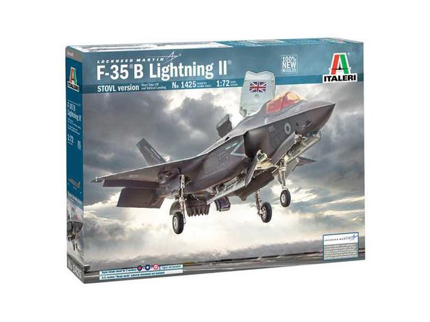 Italeri: 1/72 Locheed F-35 B Lightning II STOVL - Model Kit