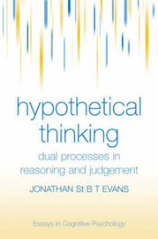 Hypothetical Thinking by Jonathan St.B.T. Evans image