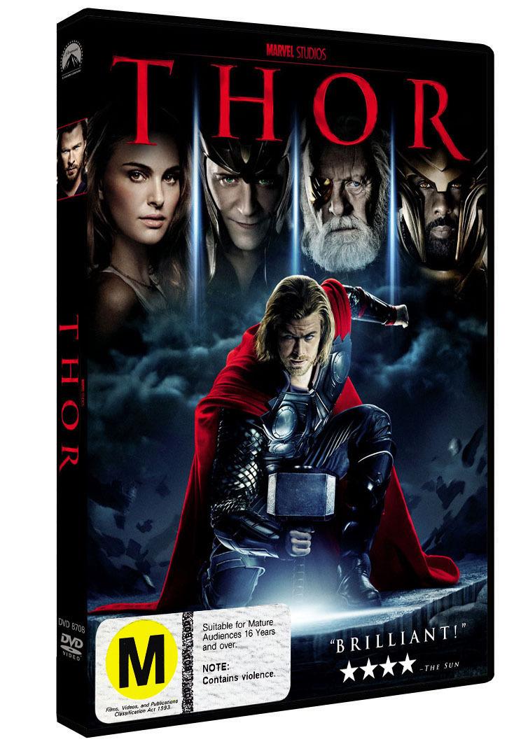 Thor on DVD image