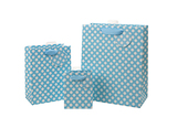 Spotty Blue Bag - Small