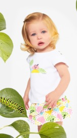 Sookibaby My Bird Dotty So Spotty Double Frill Skort (Size 000)