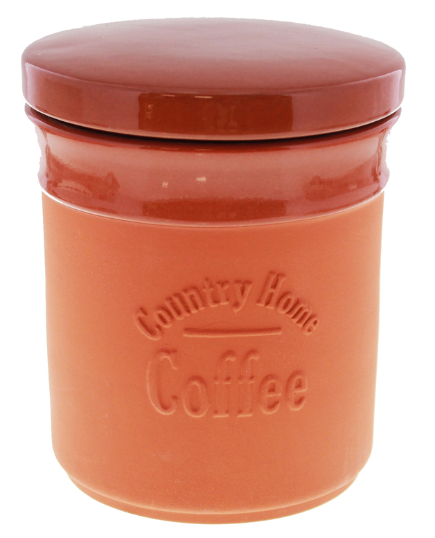 Terracotta Coffee Canister