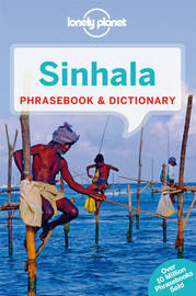 Lonely Planet Sinhala (Sri Lanka) Phrasebook & Dictionary by Lonely Planet