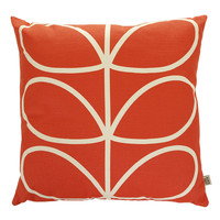 Orla Kiely Giant Linear Stem Cushion Cover - Red