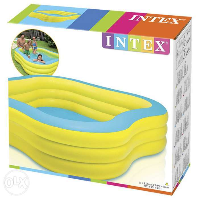 intex swim center family pool instructions