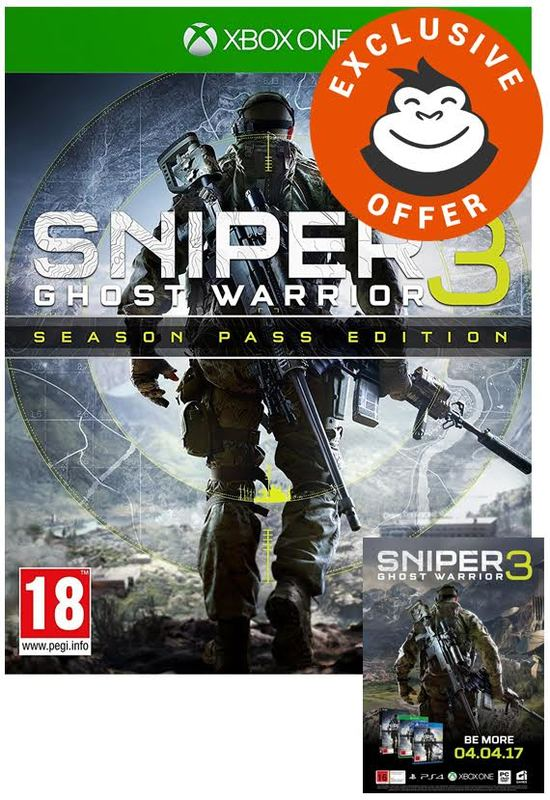 Sniper: Ghost Warrior 3 Season Pass Edition for Xbox One