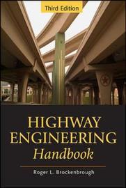 Highway Engineering Handbook by Roger L Brockenbrough image