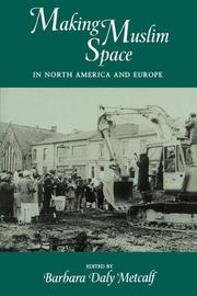 Making Muslim Space in North America and Europe image