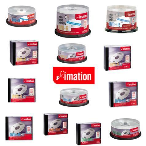 Imation DVD-RW 4.7GB 4x 25pk Spindle image