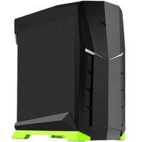 SilverStone: Raven RVX01BR-W X ATX Case with Window (Green/Black)