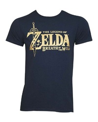 Legend of Zelda: BOTW - Metallic Logo T-Shirt (Large)