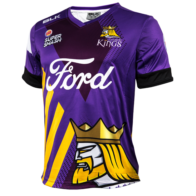 Canterbury Kings 2017/18 Youth Replica Playing Shirt (Size 10)