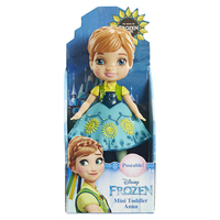 Disney Princess: My First Mini Toddler Doll - Anna (Light Blue Dress)