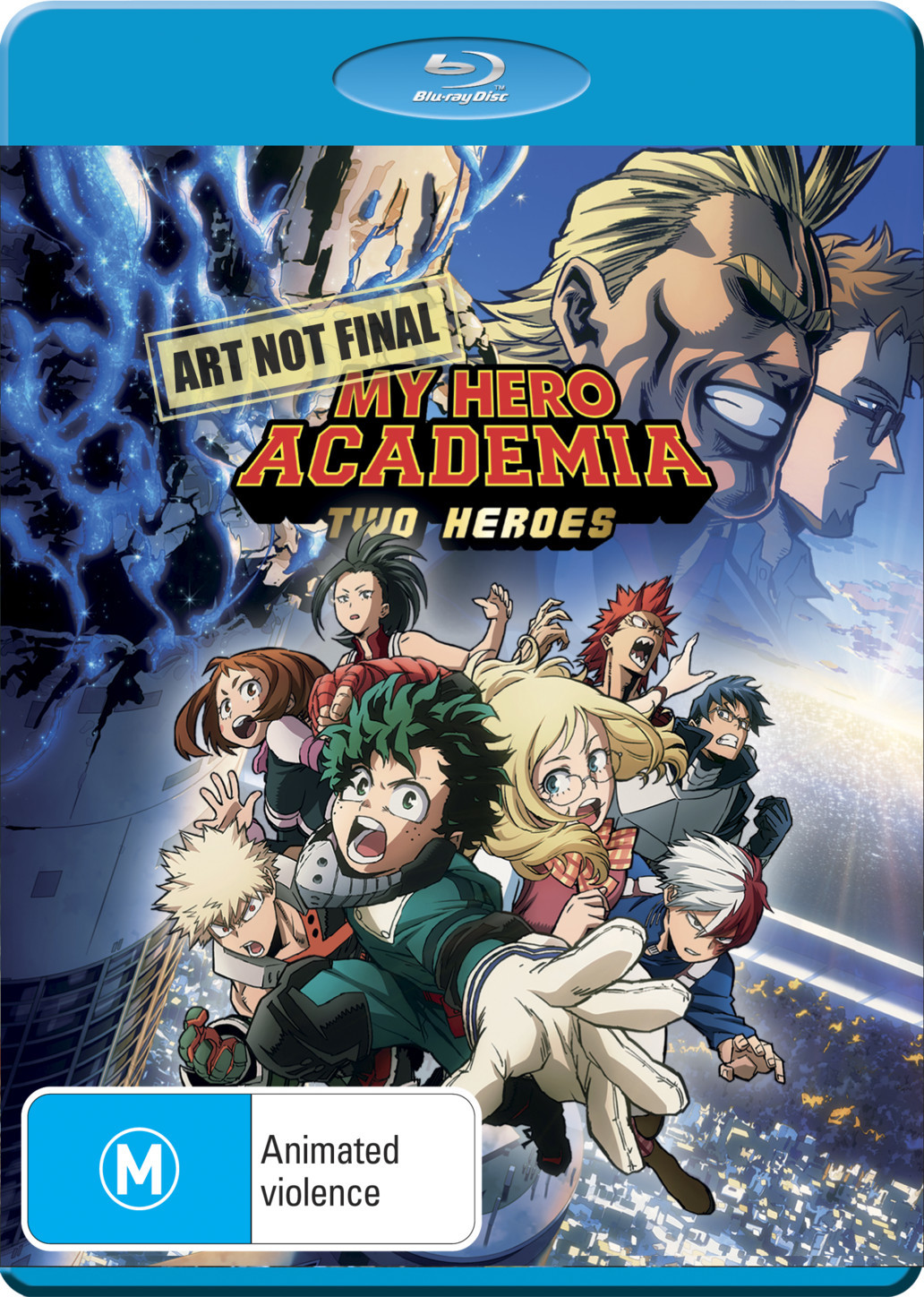 My Hero Academia: The Movie - Two Heroes on DVD, Blu-ray image