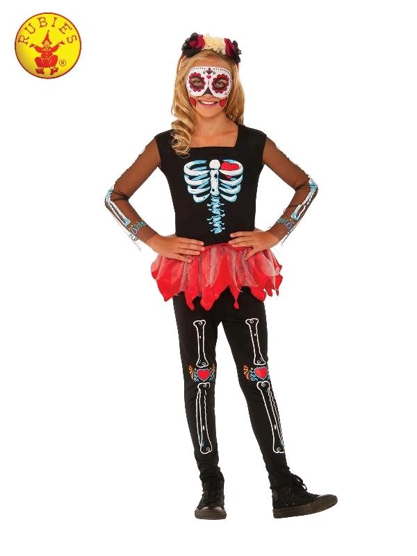 Scared To The Bone Skeleton Costume - Size 9-12