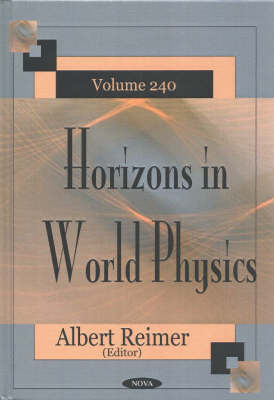 Horizons in World Physics, Volume 240 image