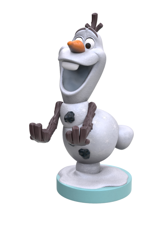 Cable Guy Controller Holder - Olaf for PS4