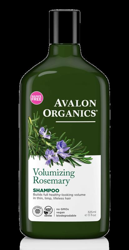 Avalon Organics: Rosemary Shampoo - Volumizing Oat Protein (325ml)