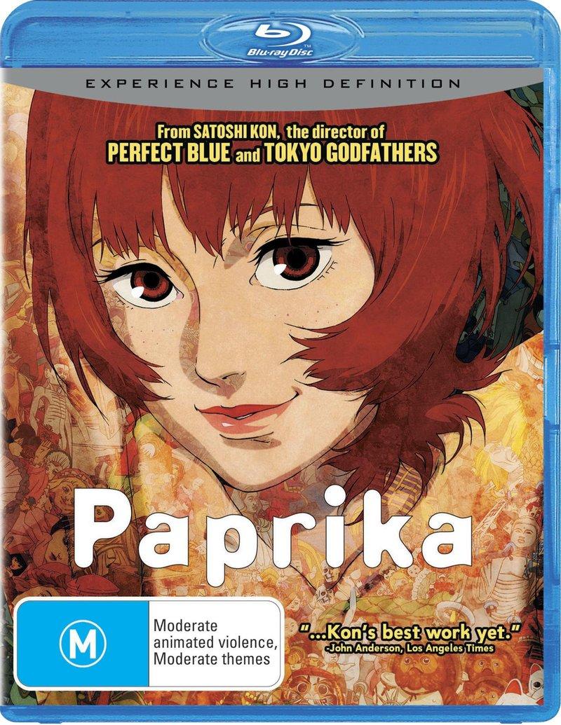 Paprika on Blu-ray image