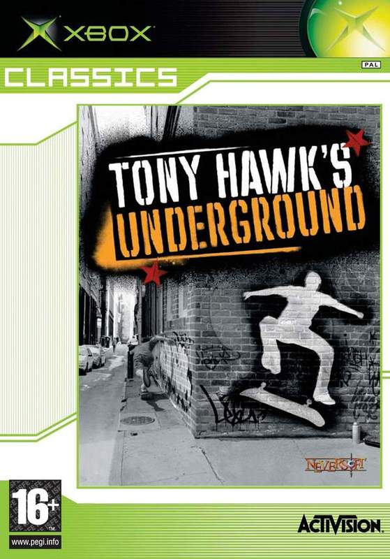 Tony Hawk's Underground for Xbox