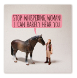 Noi - Stop Whispering Card