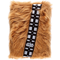 Star Wars Episode VII Premium A5 Notebook - Chewbacca Fur