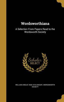 Wordsworthiana by William Angus 1836-1916 Knight image