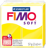 Staedtler Fimo Soft Modelling Clay Block - Lemon (56g)