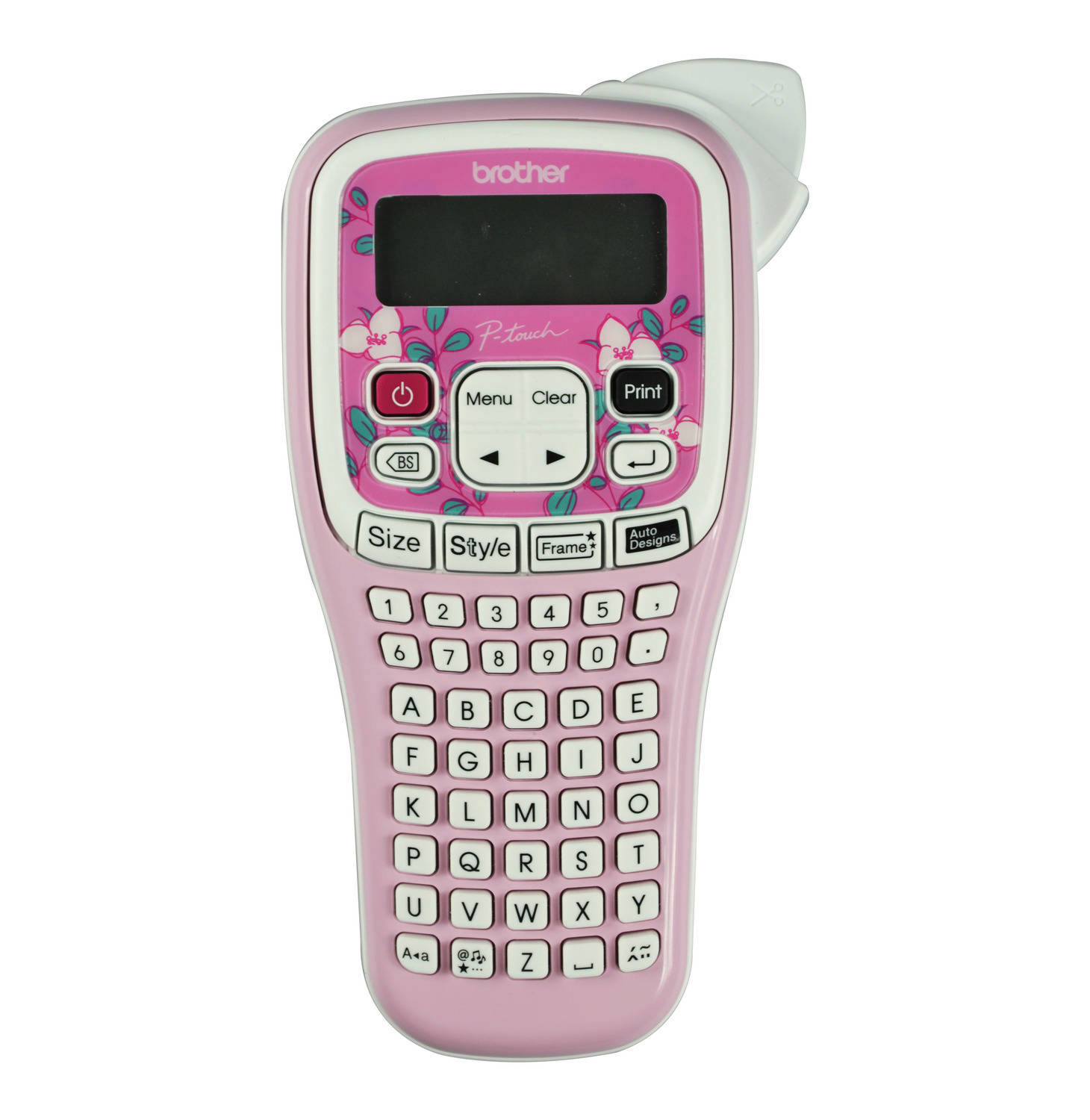 Brother PTH105 P-Touch Durable Label Maker - Pink