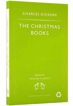 The Dickens Christmas Books: A Christmas Carol; The Chimes; The Cricket on the Hearth by Charles Dickens image