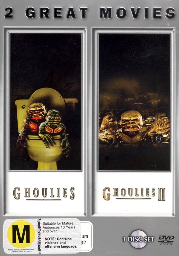 Ghoulies / Ghoulies 2 - Double Feature on DVD image