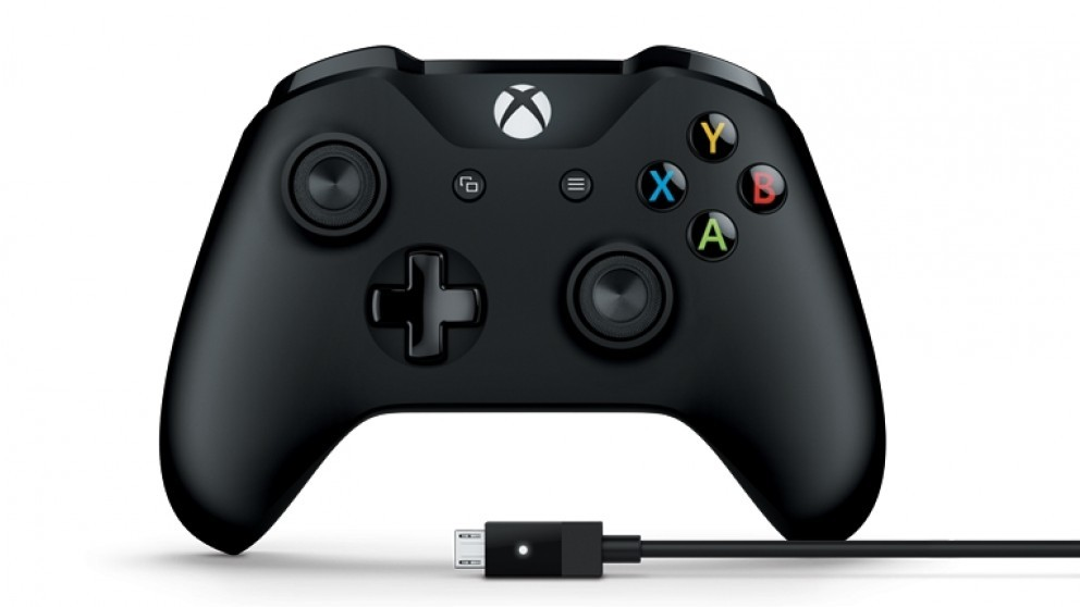 Xbox One Wireless Controller + Cable for PC screenshot