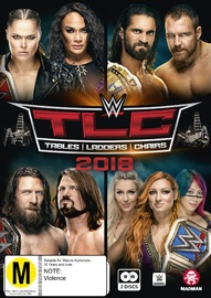 WWE: TLC Tables, Ladders & Chairs 2018 on DVD