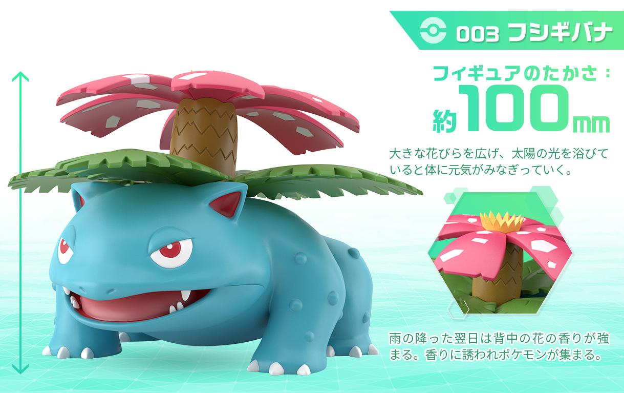 Pokemon Scale World Kanto: 1/20 Venusaur - Mini Figure image