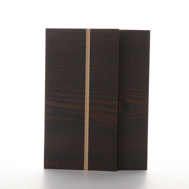 Wood Grain Smartphone Screen Amplifiers - Darkwood