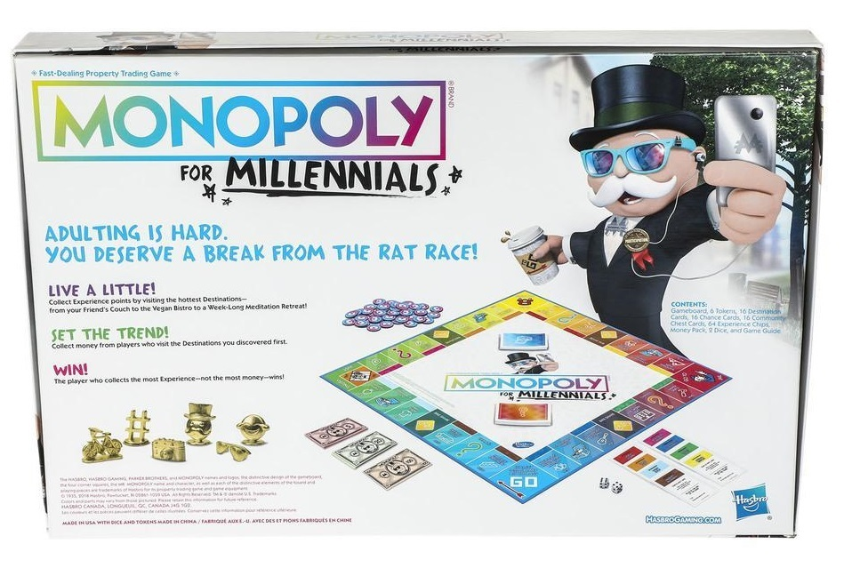 Monopoly for Millennials - Board Game image
