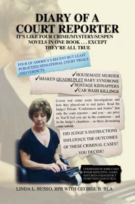 Diary of a Court Reporter by RPR with George B. Blake Linda L. Russo image