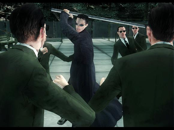 The Matrix: Path of Neo for PC image