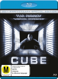 Cube: 20th Anniversary Special Edition on Blu-ray