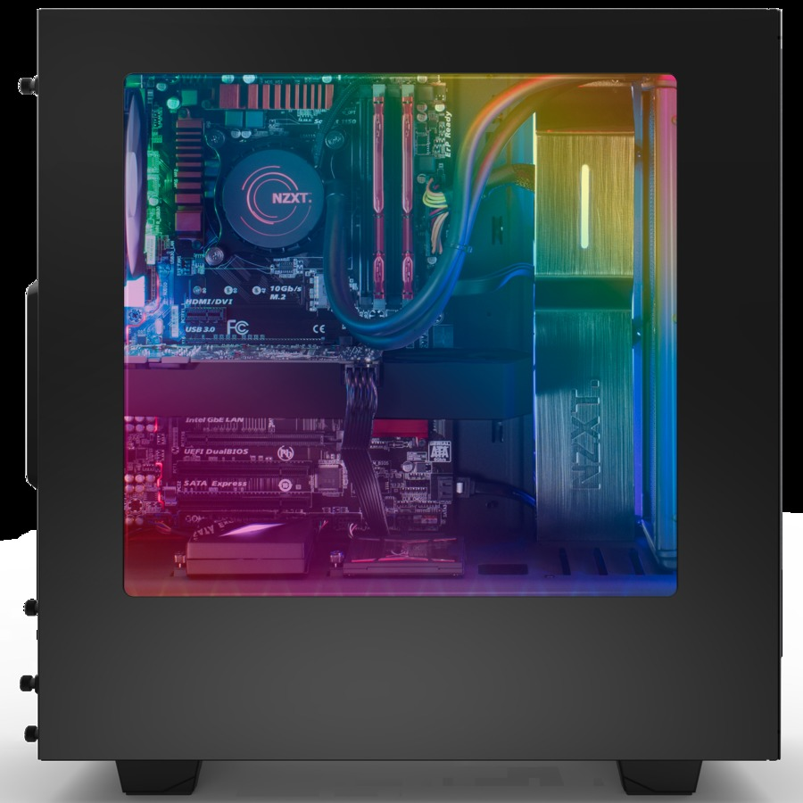NZXT HUE+ Advanced PC Lighting - Black image