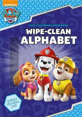 PAW Patrol: Wipe-Clean Alphabet by Scholastic