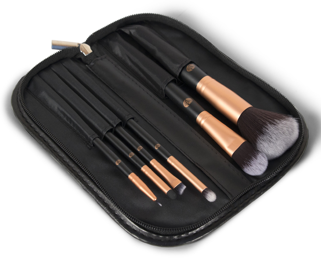 The Essentials Cosmetic Brush Collection