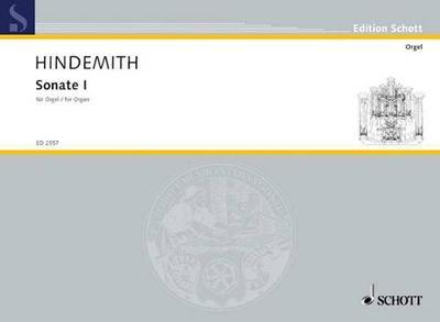 Sonata No. 1 by Paul Hindemith