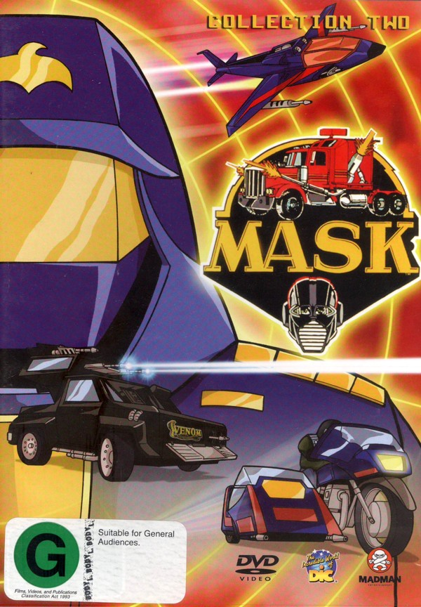 M.A.S.K. Collection 2 on DVD image